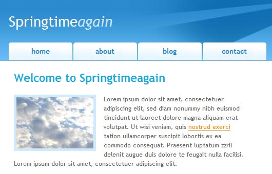Springtimeagain Template Preview