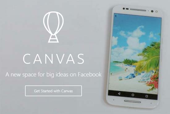 Facebook Canvas - neue Mobile Ads
