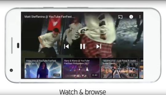 Youtube in 2017: Watch and browse