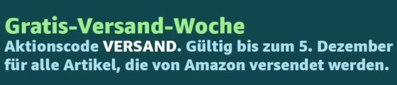 Amazon Gratisversandwoche